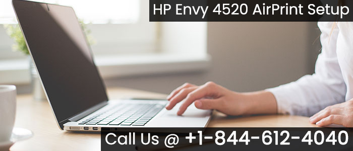 HP Envy 4520 Airprint Setup